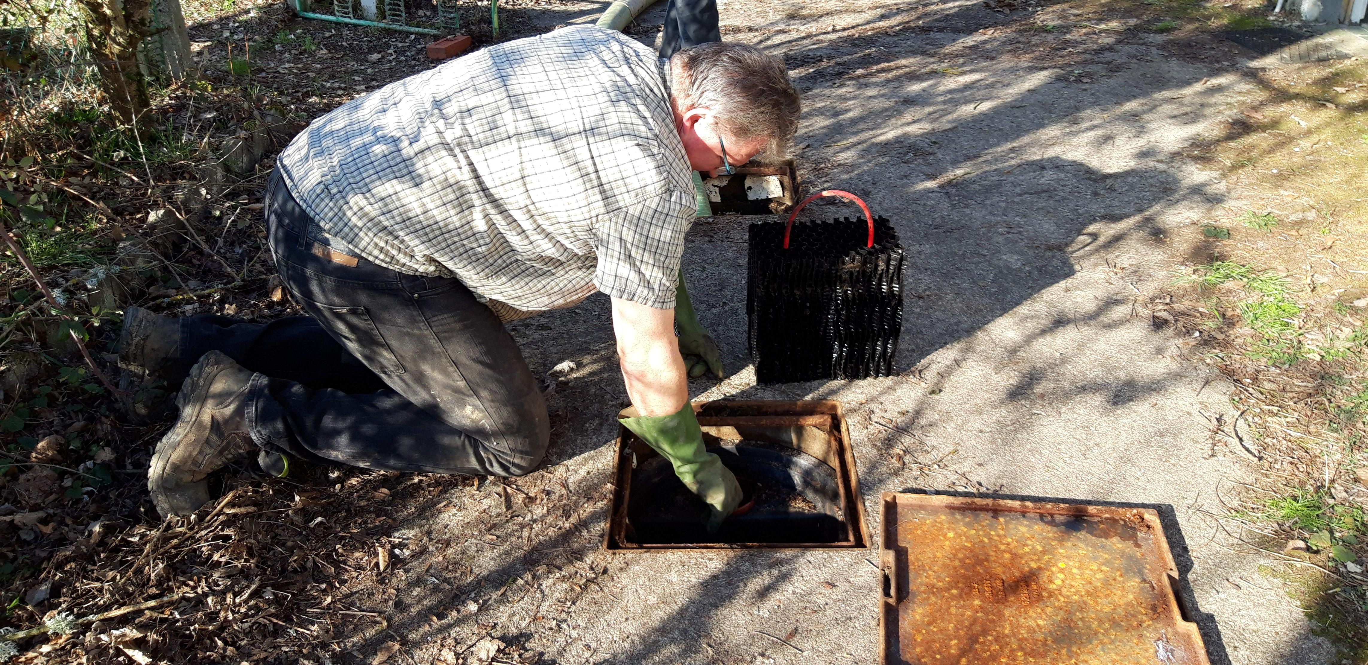 entretien filtre fosse septique